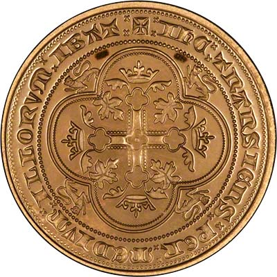 Reverse of Edward III Fantasy Gold Florin
