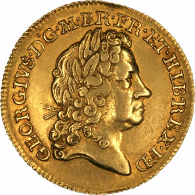 George I on Obverse of 1715 Guinea