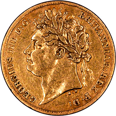 George IV Half Sovereigns