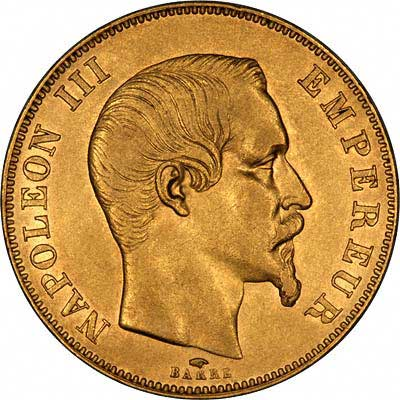 French Gold 50 Francs