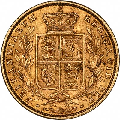 Victoria Shield Bullion Sovereign