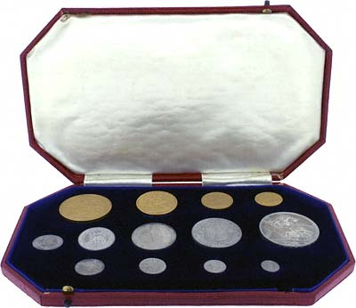 1902 Thirteen Coin Gold Proof Set