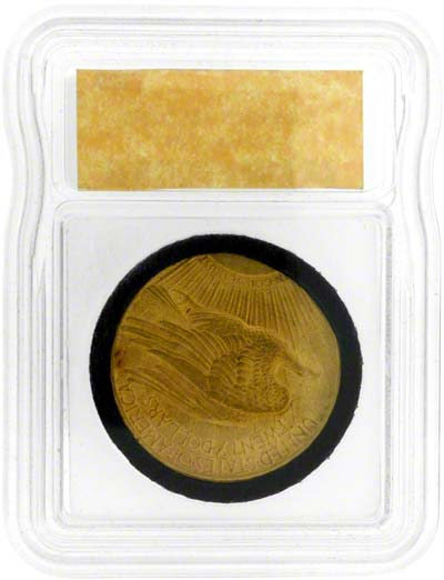 Flying Eagle Reverse Design on a 1924 American Gold Double Eagle