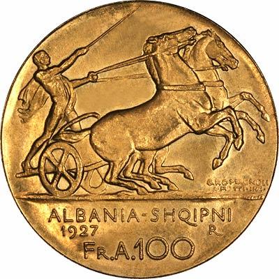 Albanian Gold Coins Albania
