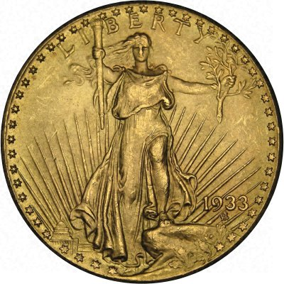 1933 American Gold Double Eagle