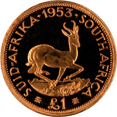 South African Mint Historic Gold Collection