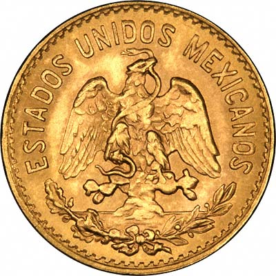 Mexican Cinco Five Pesos Gold Coins