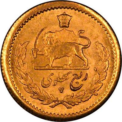 dating iranian coins