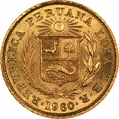Peruvian Gold Coins Peru Chards Tax Free Gold