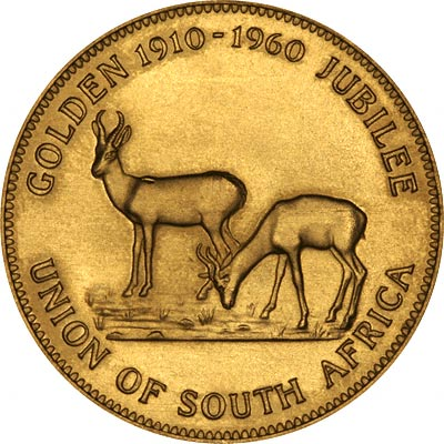 Obverse of 1960 South African Medallion