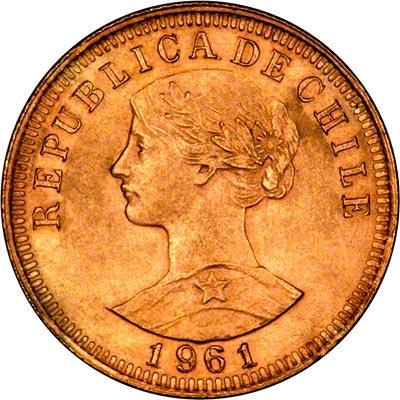 Chilean Gold Coins 50 Pesos
