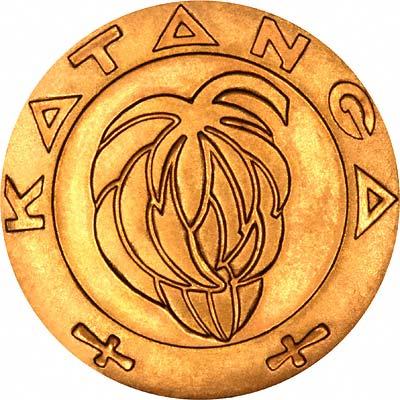 Katangan Gold Coins Katanga Chards Tax Free Gold