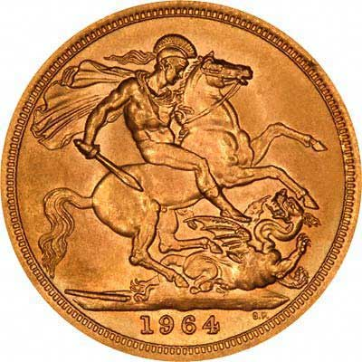 1964 Gold Sovereign