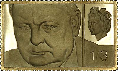 Gold Replica Stamps Gold 1/3 Stamp Replica