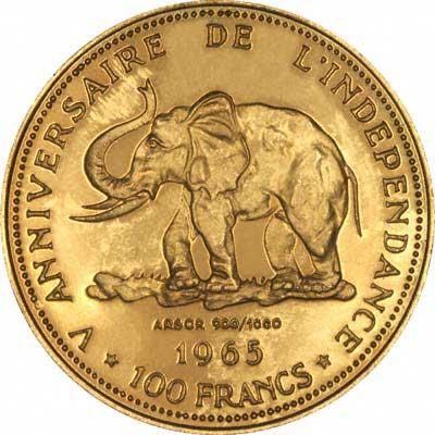 Congolese Gold Coins Congo