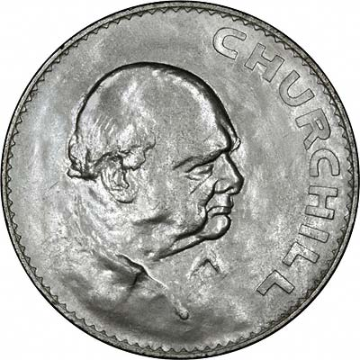 winston churchill silver crown value