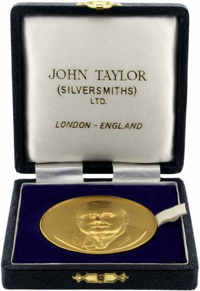 Individual Gold Medallion in Presentation Box