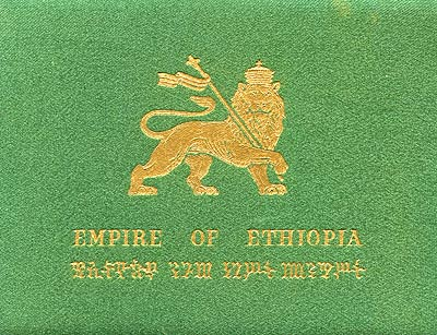 1966 Ethiopian Gold Proof Set Box
