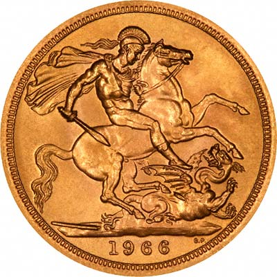 1966 Gold Sovereigns
