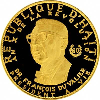 Haiti Gold Coins