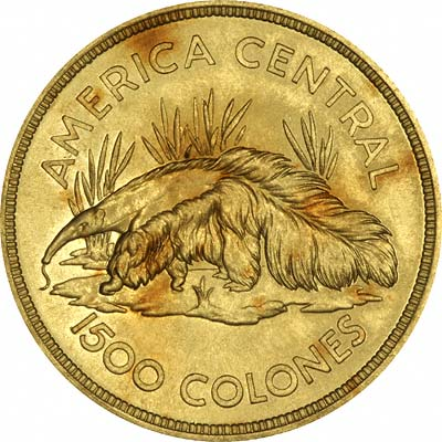 Costa Rican Gold Coins Costa Rica