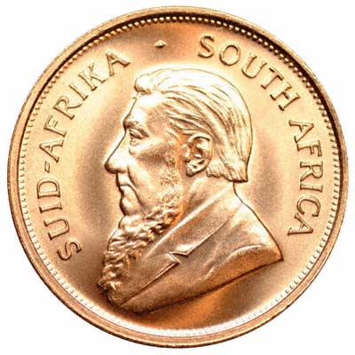 Obverse of 1974 One Ounce Krugerrand