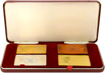 Queen Mother S 75th Birthday Tablets 1975