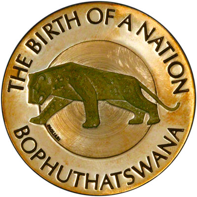 Image result for Bophuthatswana MINTED COINS