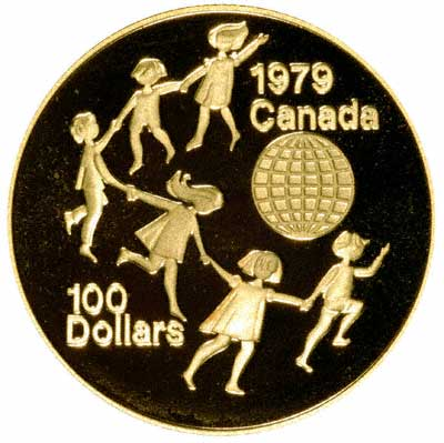 Reverse of 1979 Canadian $100