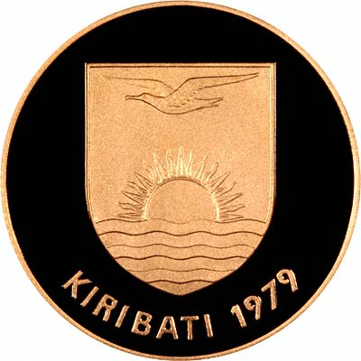 Obverse of Kiribati Gold $150 of 1979