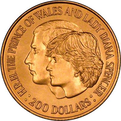 princess diana and prince charles wedding coin value