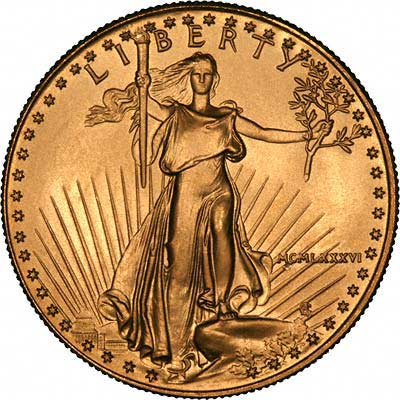 Latin Dates On Us Gold Eagles From Mcmlxxxvi