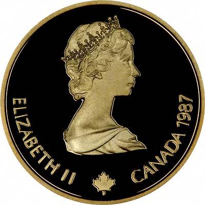 Dollar 1987 Canadian Gold Coin