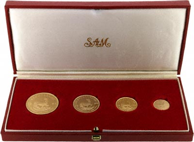 1989 Proof Krugerrand Set in Presentation Box