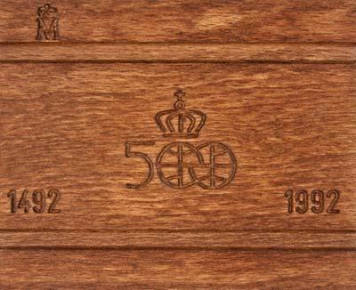 1989 Spanish 80 000 Gold Coins Quinto Centenario