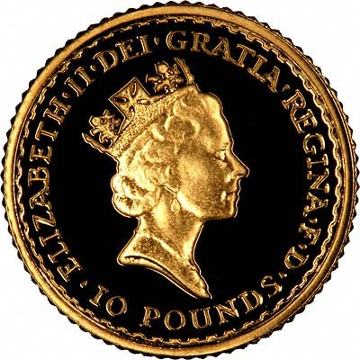 1991 Tenth Ounce Proof Britannia