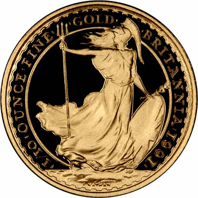 Tenth Ounce Gold Britannia Proof