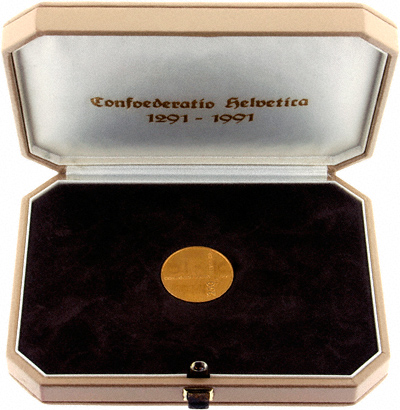 Swiss Gold 250 Francs
