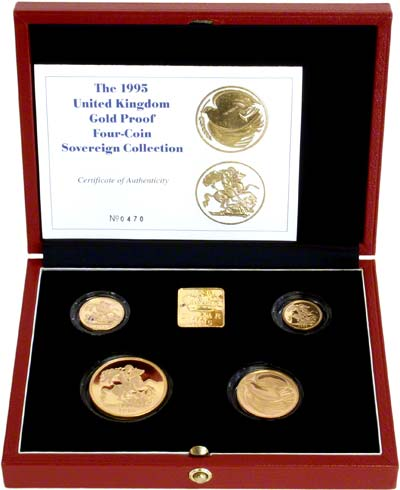1995 Gold Proof Set in Box