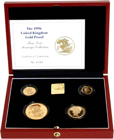 1996 Gold Proof Set in Box