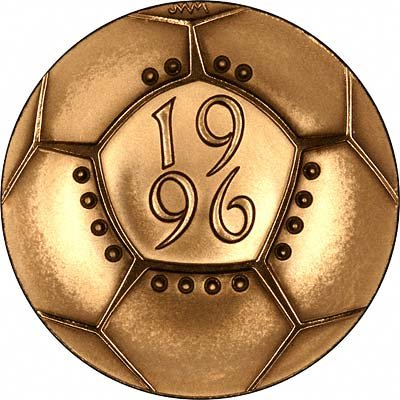 Reverse of 1996 Gold Proof Two Pounds