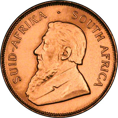 Obverse of Half Ounce Proof Krugerrand