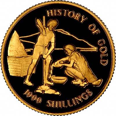 Tanzanian Gold Coins Tanzania