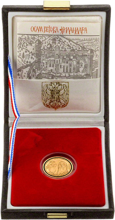 1998 600 New Dinars in Presentation Box