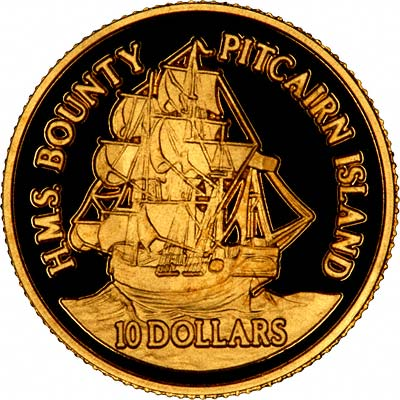 Pitcairn Islands Gold Coins