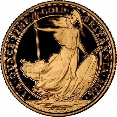 Gold Britannias Are Exempt From Capital Gains Tax