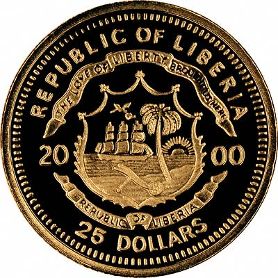 World S Smallest Gold Coins From Liberia