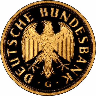 2001 German Gold 1 Deutsche Mark