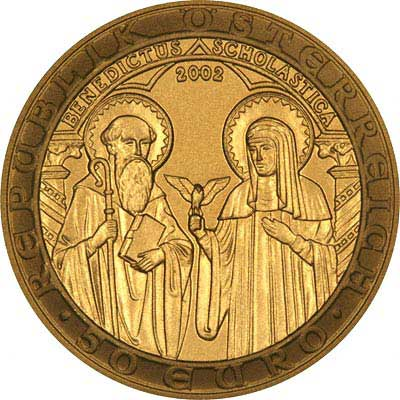 Austrian Gold 50 Euro Commemorative Coins
