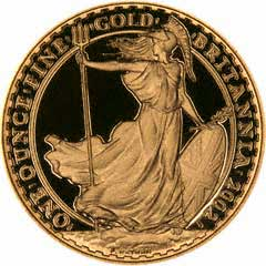 The Beautiful Standing Britannia Reverse Design - One Ounce